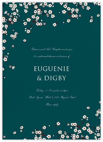 Mitsi - Douglas - Liberty - Wedding Weekend Invitations