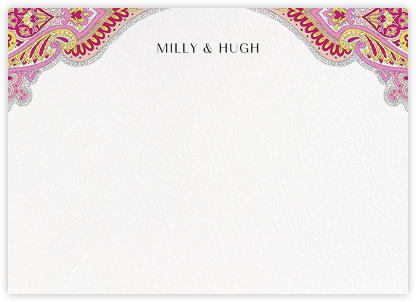 Lord Paisley Lawn (Stationery) - Liberty - Liberty London wedding stationery