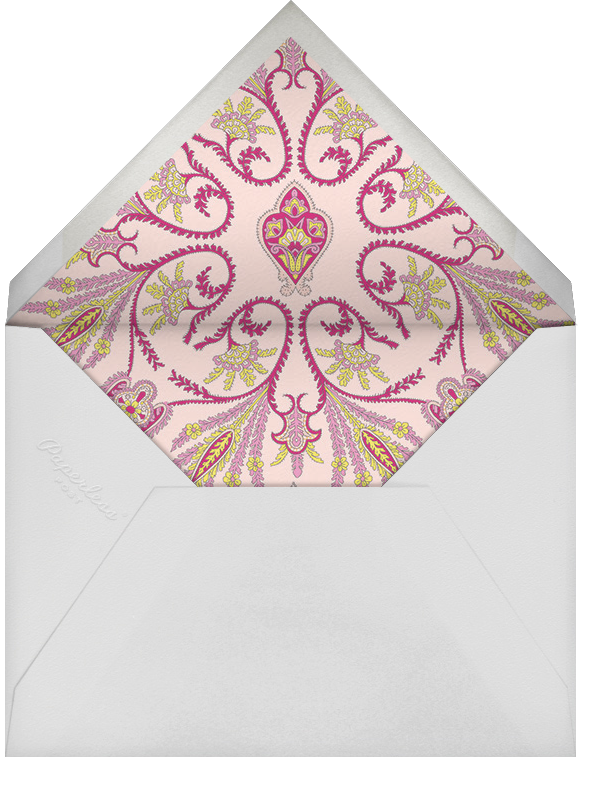 Lord Paisley Lawn (Horizontal) - Liberty - Engagement party - envelope back