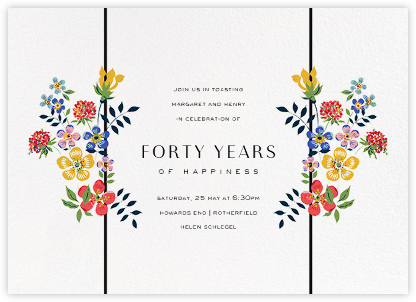 Edenham - Ivory - Liberty - Liberty London Stationery