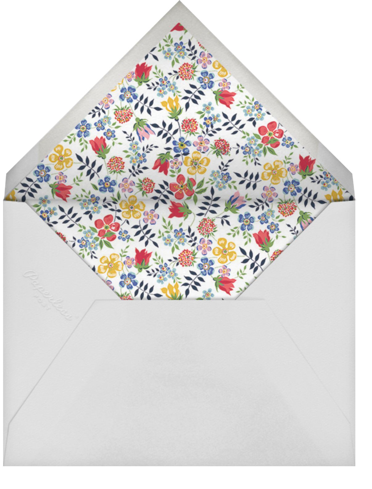 Edenham (Photo) - Ivory - Liberty - Graduation party - envelope back
