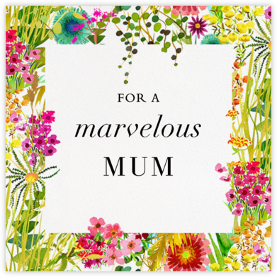 Tresco (Greeting) - Liberty - Mother's Day Cards