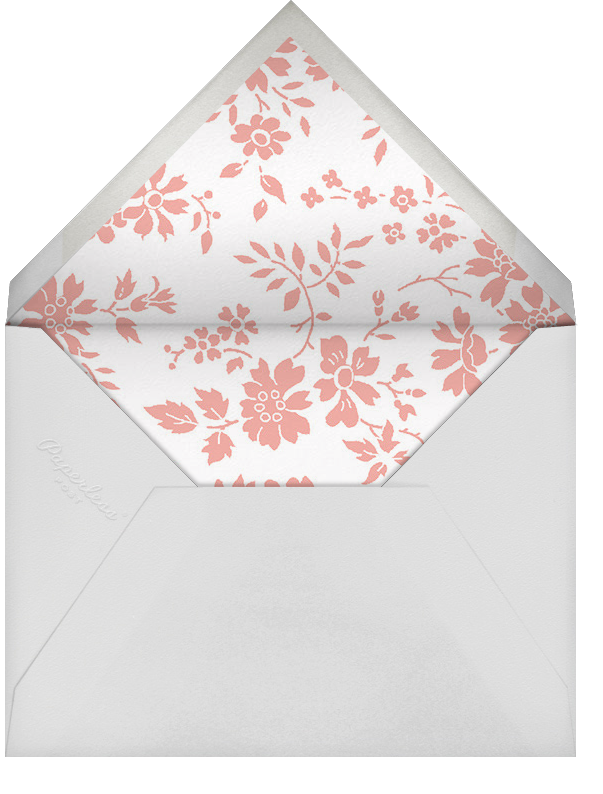Capel - Papaya - Liberty - Envelope