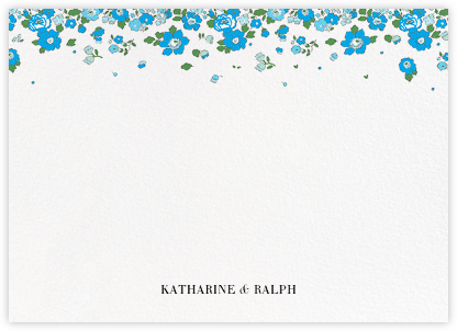 Betsy (Stationery) - Capri - Liberty - Liberty London wedding stationery