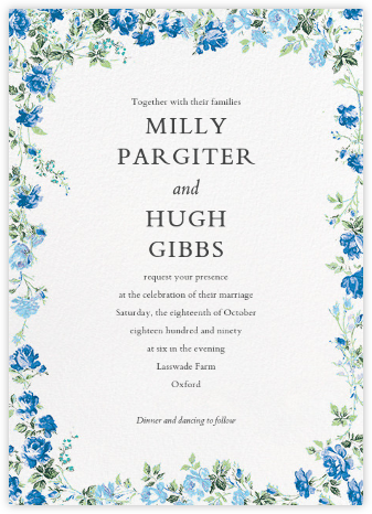 Elizabeth Daylight (Invitation) - Liberty - Liberty London wedding stationery