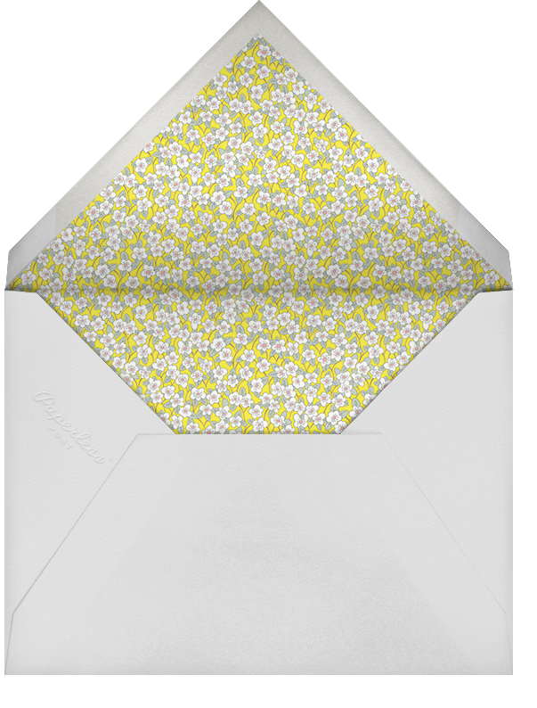 Ffion (Stationery) - Yellow - Liberty - Envelope