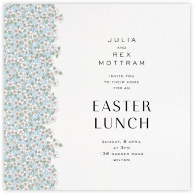 Ffion - Glacier - Liberty - Easter Invitations