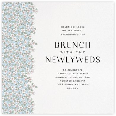 Wedding brunch invitations online at paperless post ffion glacier stopboris Gallery