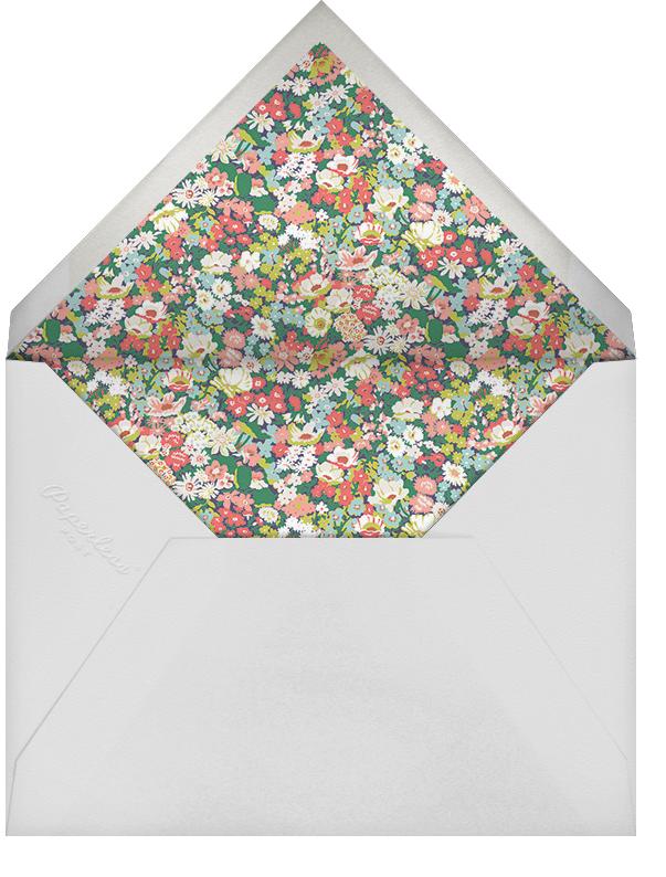 Thorpe (Stationery) - Liberty - Personalized stationery - envelope back