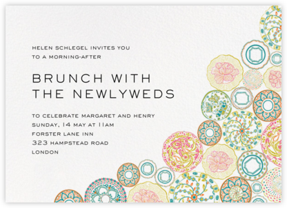 Willow - Liberty - Wedding Weekend Invitations