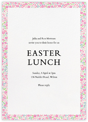 Fairford  - Liberty - Easter Invitations