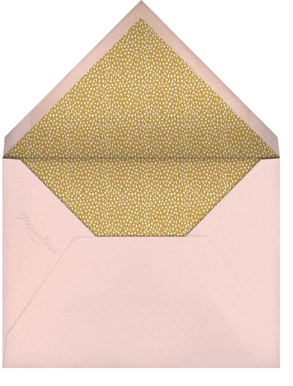 Miss Gigi (Photo Save the Date) - Pink - Mr. Boddington's Studio - Save the date - envelope back