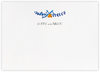 Miss Lila (Stationery) - Lapis - Mr. Boddington's Studio - Personalized Stationery