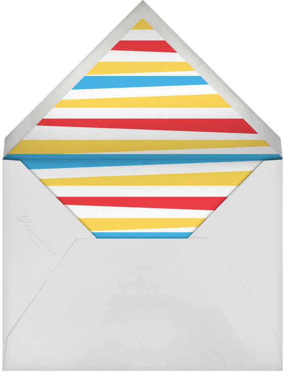 Get Out the Groggers (Greeting) - Paperless Post - Envelope