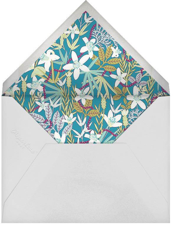 Stanley - Royal Blue - Liberty - Engagement party - envelope back