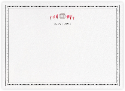 Miss Capitol (Stationery) - Mr. Boddington's Studio - Personalized Stationery