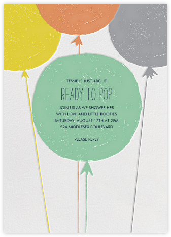 Floating with Love - Pond - Mr. Boddington's Studio - Baby shower invitations