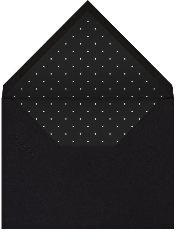 San Francisco Skyline View (Invitation) - White/Black - Paperless Post - Envelope