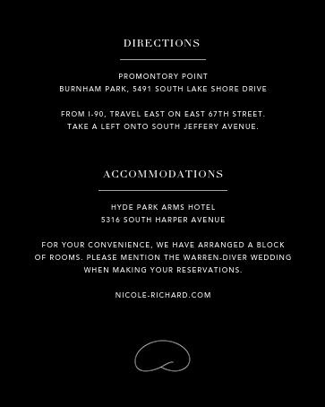 Chicago Skyline View (Invitation) - Black/White - Paperless Post - All - insert front