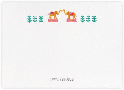 Miss Anupama (Stationery) - Mr. Boddington's Studio - Personalized Stationery