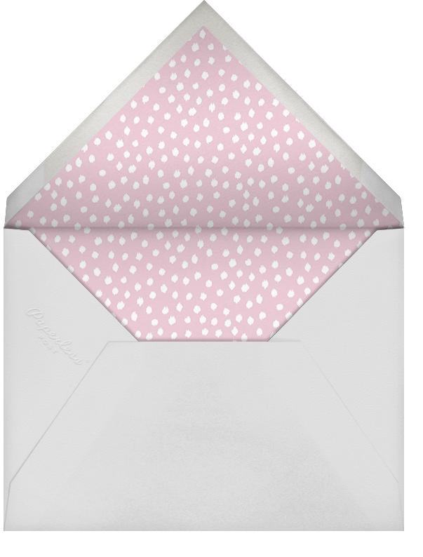 Ikat Dot (Square) - Light Pink - Oscar de la Renta - Engagement party - envelope back