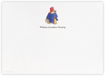 Paddington Steps Out (Stationery) - Paddington Bear - Paddington Bear Invites