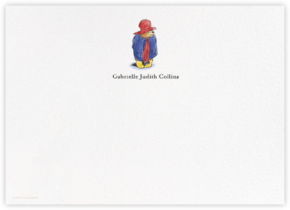 Presenting Paddington (Stationery) - Paddington Bear - Paddington Bear Invites