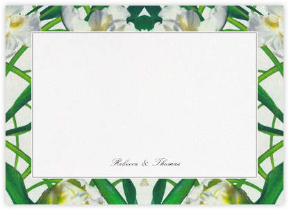 Parrot Tulip (Stationery) - Oscar de la Renta - Personalized Stationery