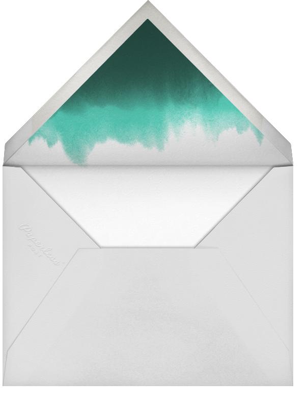 Parrot Tulip (Stationery) - Oscar de la Renta - Personalized stationery - envelope back