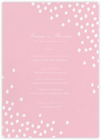 Ikat Dot (Menu) - Light Pink - Oscar de la Renta -