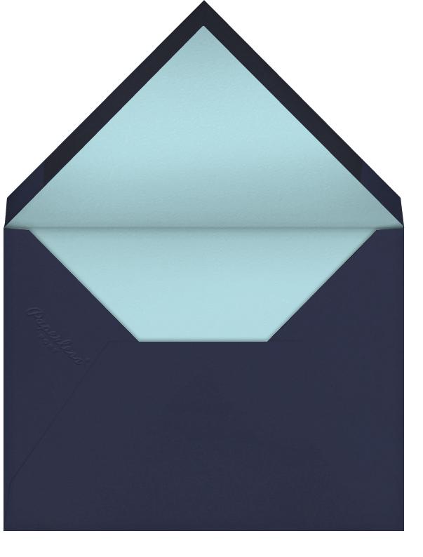 Blue Heron (Becca Stadtlander) - Red Cap Cards - Sympathy - envelope back