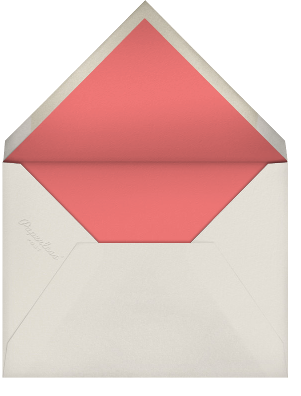 Mom (Kate Hindley) - Red Cap Cards - Mother's Day - envelope back