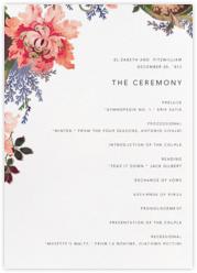 Rose Floral Ikat (Program) - White