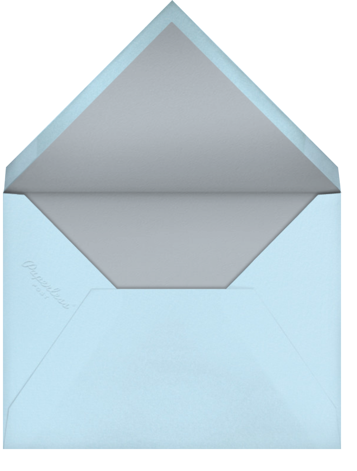Red Cabin (Becca Stadtlander) - Red Cap Cards - Thank you - envelope back