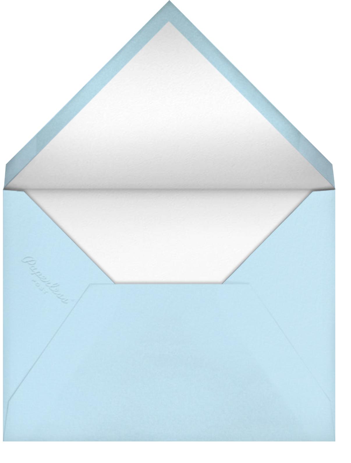 Maine Lighthouse (Becca Stadtlander) - Red Cap Cards - Thank you - envelope back