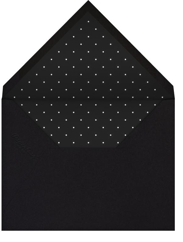 Paris Skyline View (Invitation) - White/Black - Paperless Post - All - envelope back