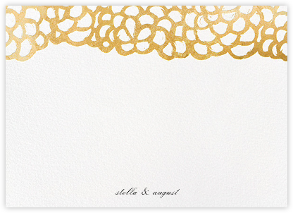 Gardenia (Stationery) - Gold | null