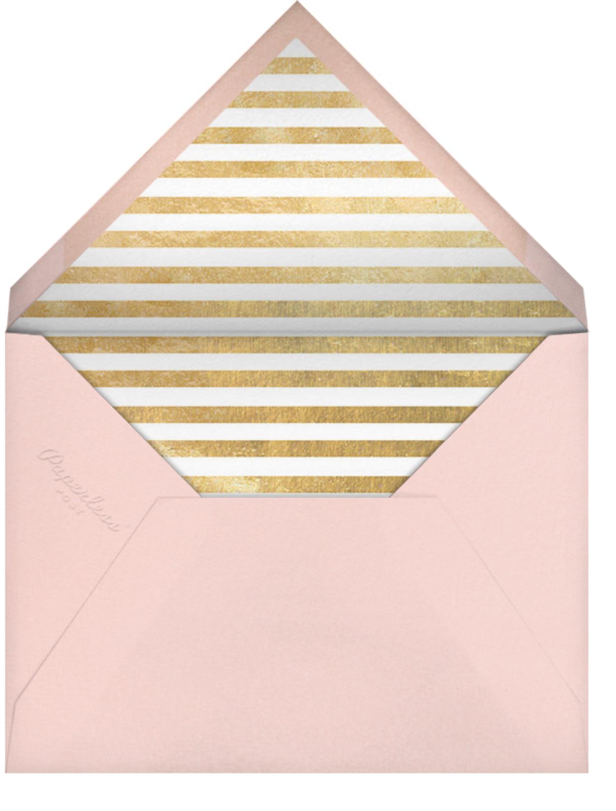 Typographic II (Invitation) - Meringue - kate spade new york - All - envelope back