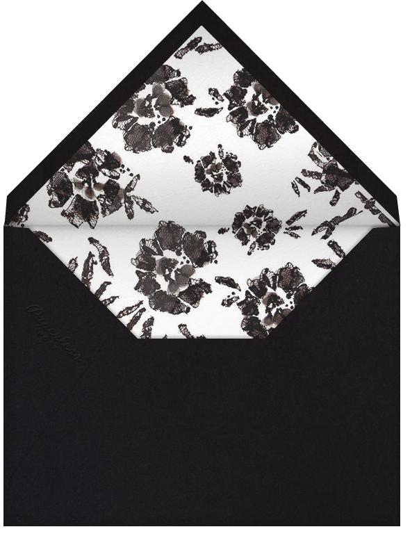Painterly Blooms (Stationery) - Oscar de la Renta - Envelope