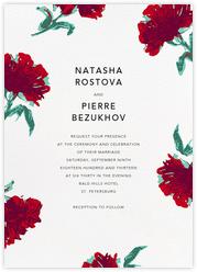 Pop Carnation (Invitation)