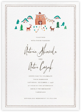 Mr. Chili Wills (Invitation) - Mr. Boddington's Studio - Wedding Invitations