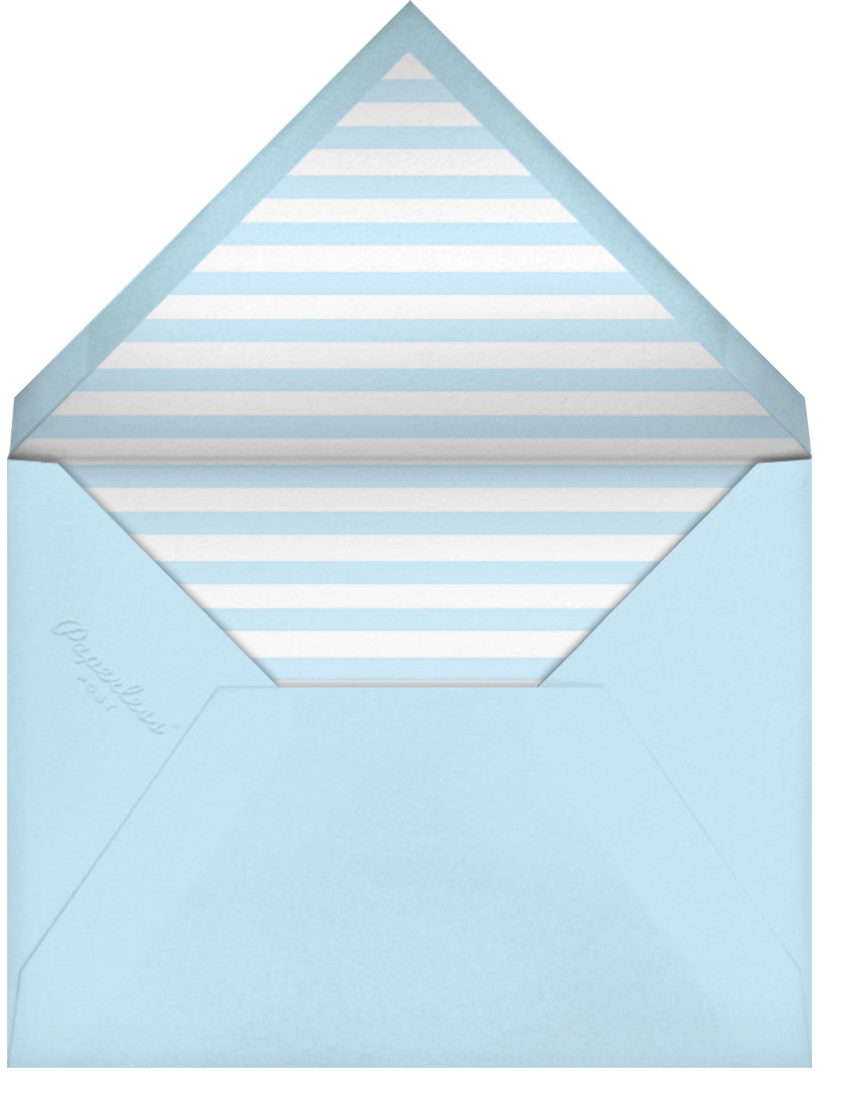 Mr. Digby (Stationery)  - Mr. Boddington's Studio - Wedding stationery - envelope back