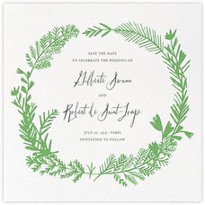 Miss Mimi Margeaux II (Save the Date) - Green