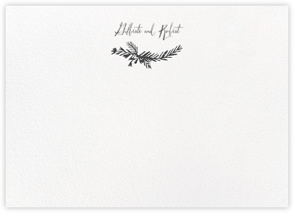 Miss Mimi Margeaux II (Stationery) - Slate | null