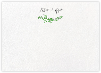 Miss Mimi Margeaux II (Stationery) - Green | null