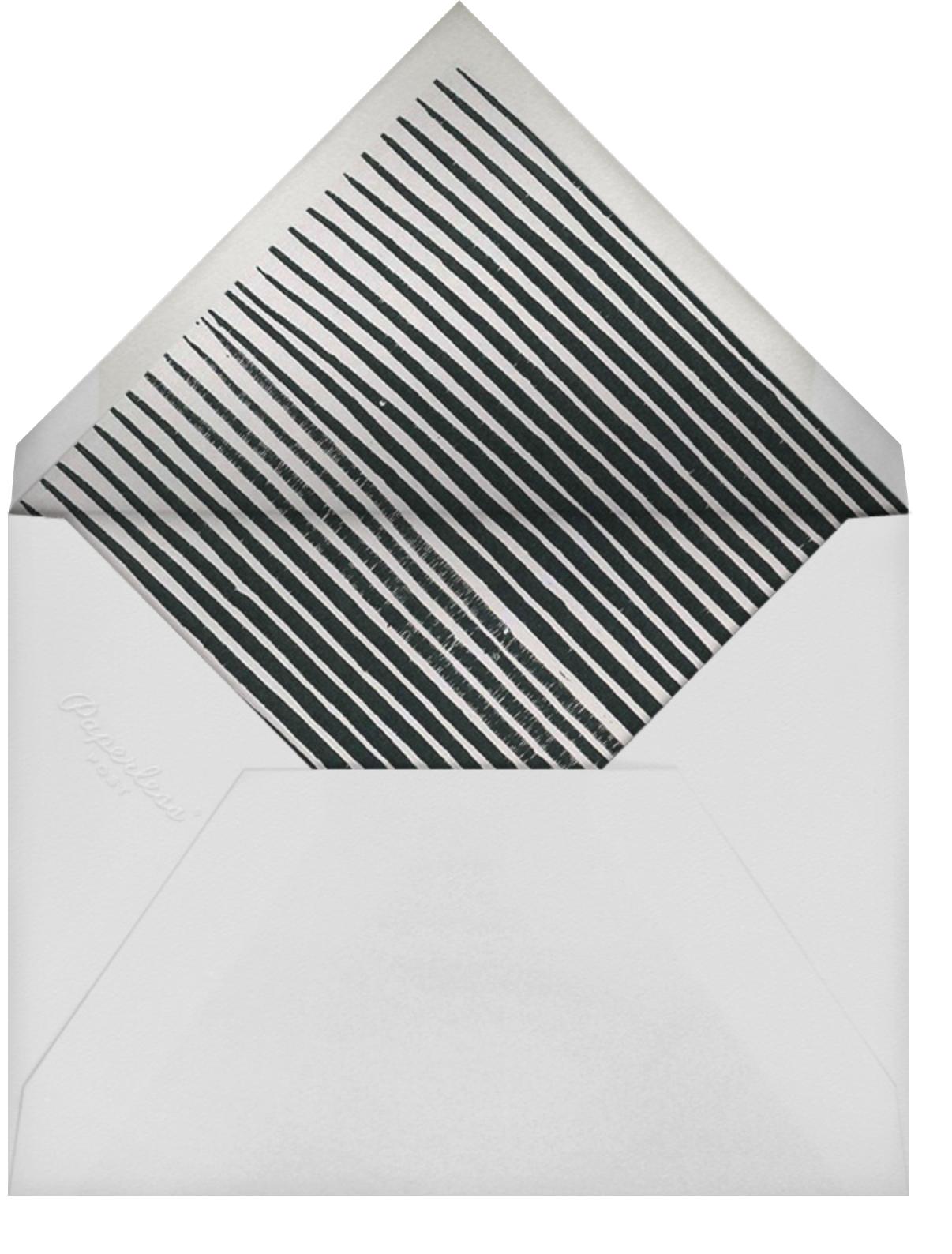 Fette (Stationery) - White/Gold - Kelly Wearstler - Personalized stationery - envelope back