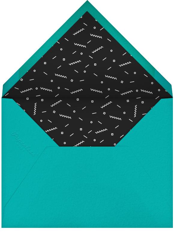 Accomplished - Black - Paperless Post - Bar and bat mitzvah - envelope back