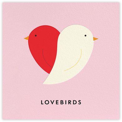 Lovebirds - kate spade new york - Valentine's day cards