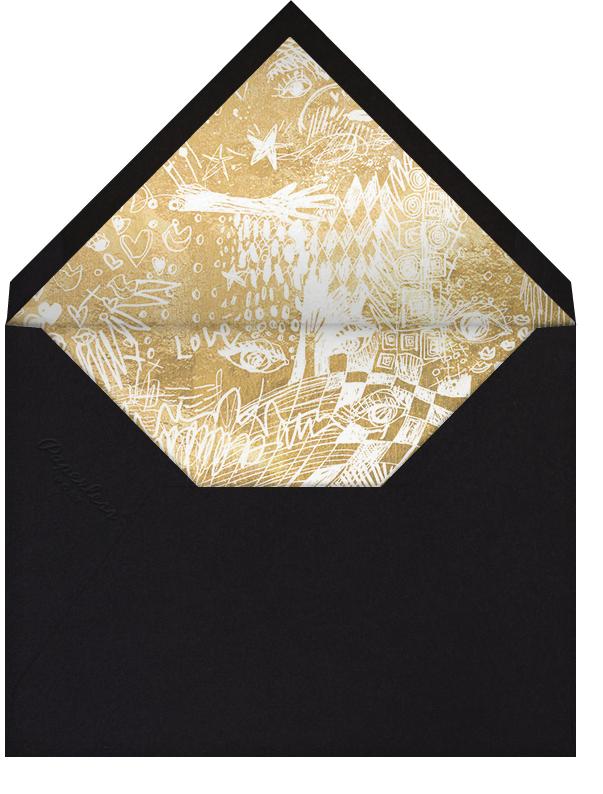 Contour - Gold - Kelly Wearstler - Romantic valentines - envelope back