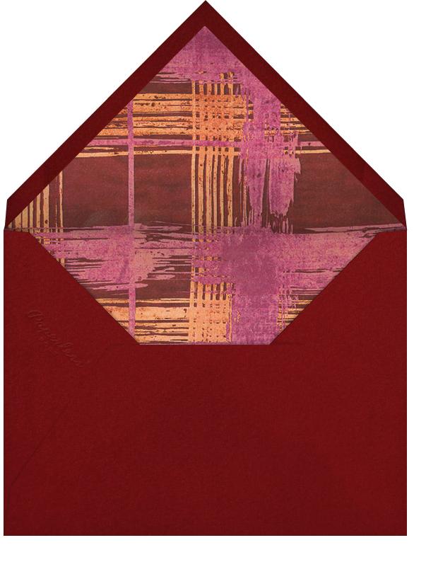 Different Strokes - Crimson - Kelly Wearstler - Valentine's Day - envelope back
